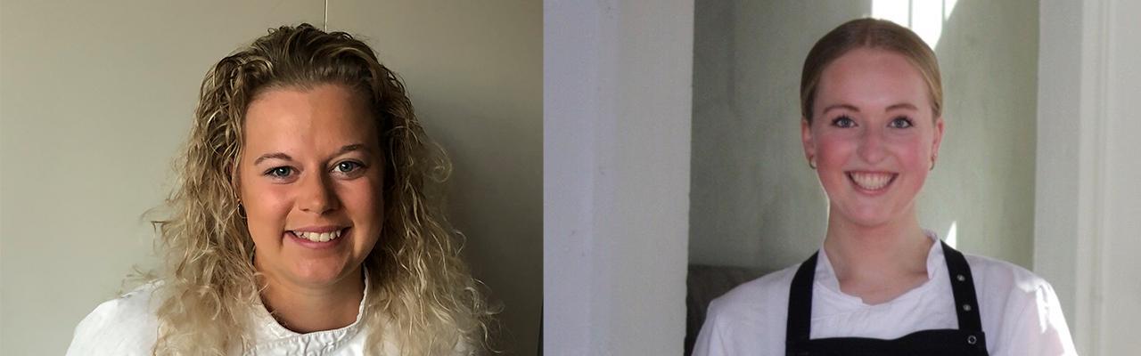To nye Smagsambassadører: Maria Kvist Trangbæk og Mikkeline Møller Rasmussen.