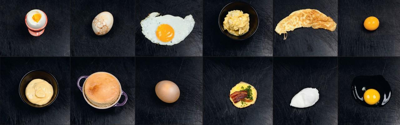 Æg i et væld af varianter. Foto: Jonas Drotner Mouritsen.