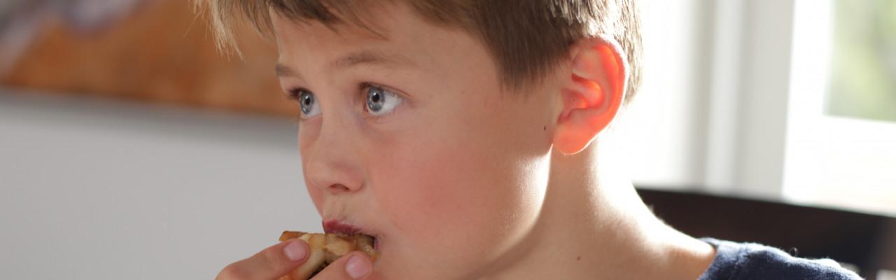 Elevernes arbejde med smag er centralt i madkundskab. Foto: Stagbird