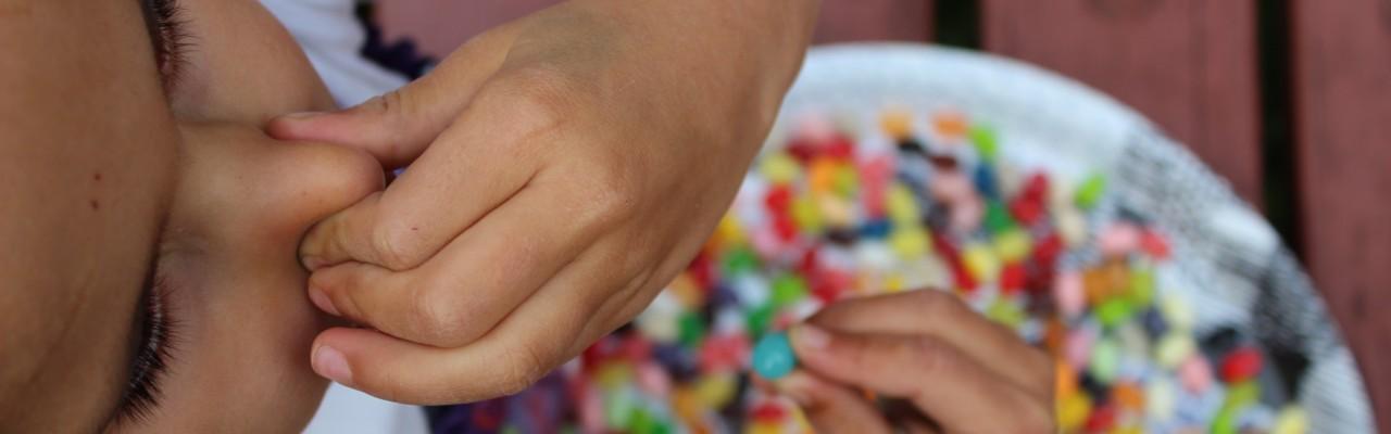 Hold dig for næsen og tyg på en jellybean