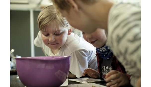 Læring gennem smag og eksperimenter giver en ny indgang til fagene. Foto: Stagbird