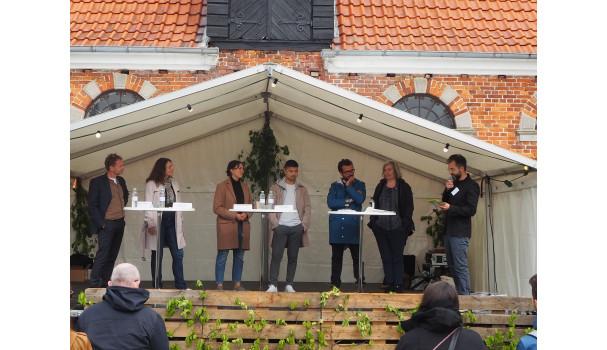 Debat om kokkefaget og dets fremtid. Foto: Michael Bom Frøst