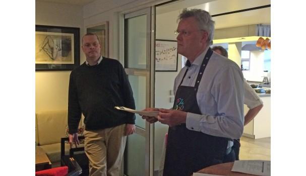 Ole G. Mouritsen byder velkommen til Folkeuniversitetet i Køkkenet